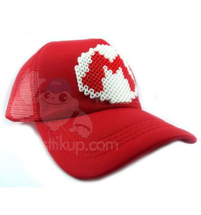 Gorra Sttikup Mario B Pixel 3D