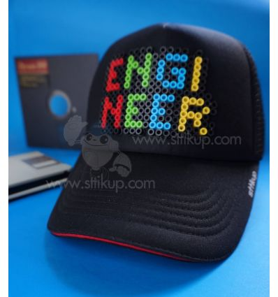 Gorra I´m Engineer Sttikup 3D