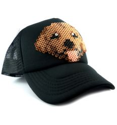 Gorra Sttikup Golden retriever 3D