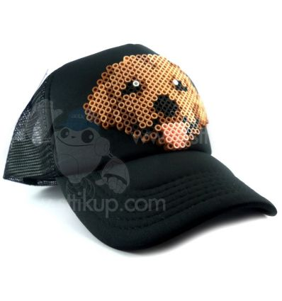 Gorra Sttikup Golden retriever Pixel 3D