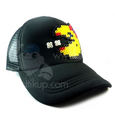 Ms Pac-man gorra 3D